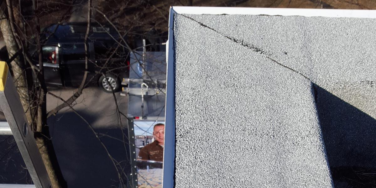 Inspection de toiture - joint de périmètre