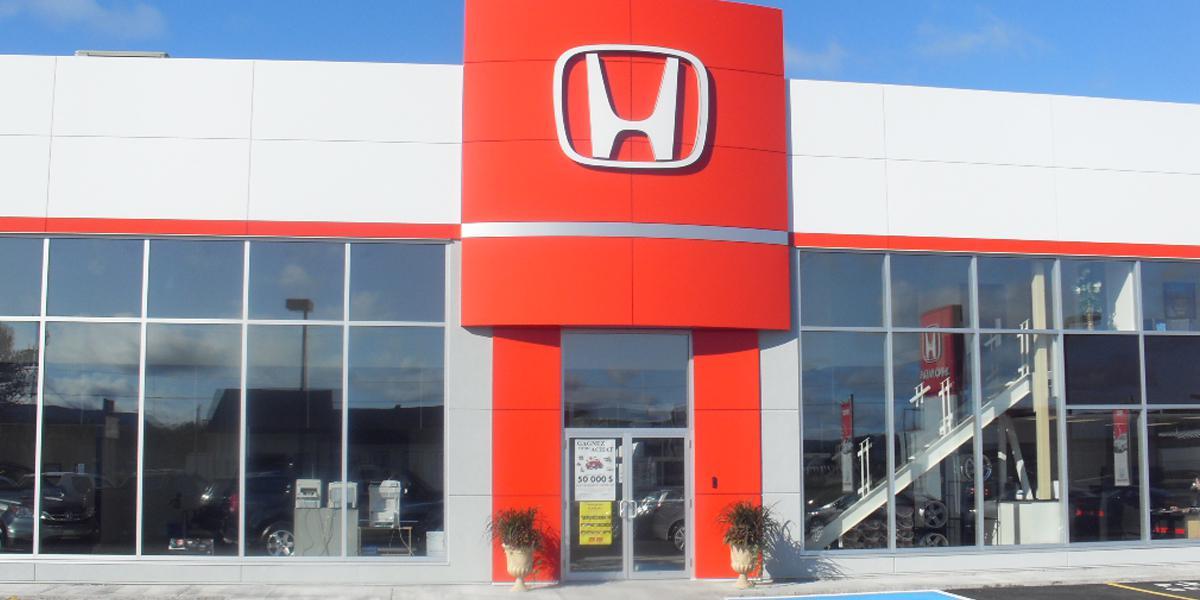 Réfection de toiture commerciale, Honda de New Richmond