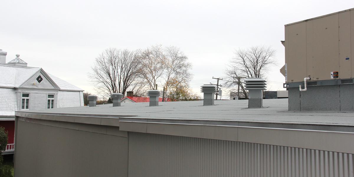 Isolation et Ventilation, toit plat, Ancienne-lorette