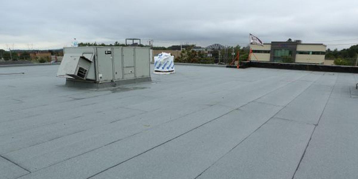 Rénovation toiture, toit plat, Lévis
