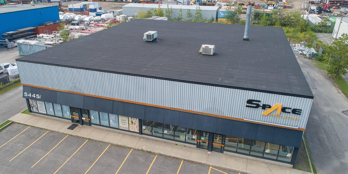 Rénovation toiture, toit plat, Québec