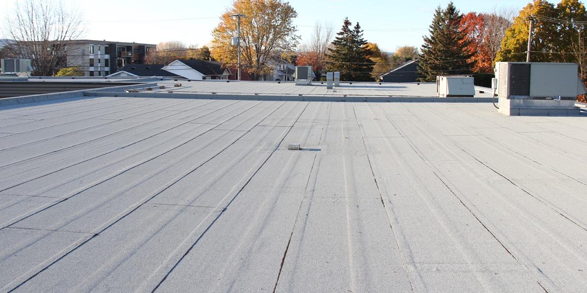 Rénovation toiture, toit plat, Ancienne-lorette
