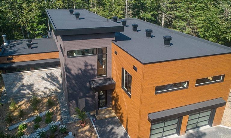 Construction toiture neuve, Beauport
