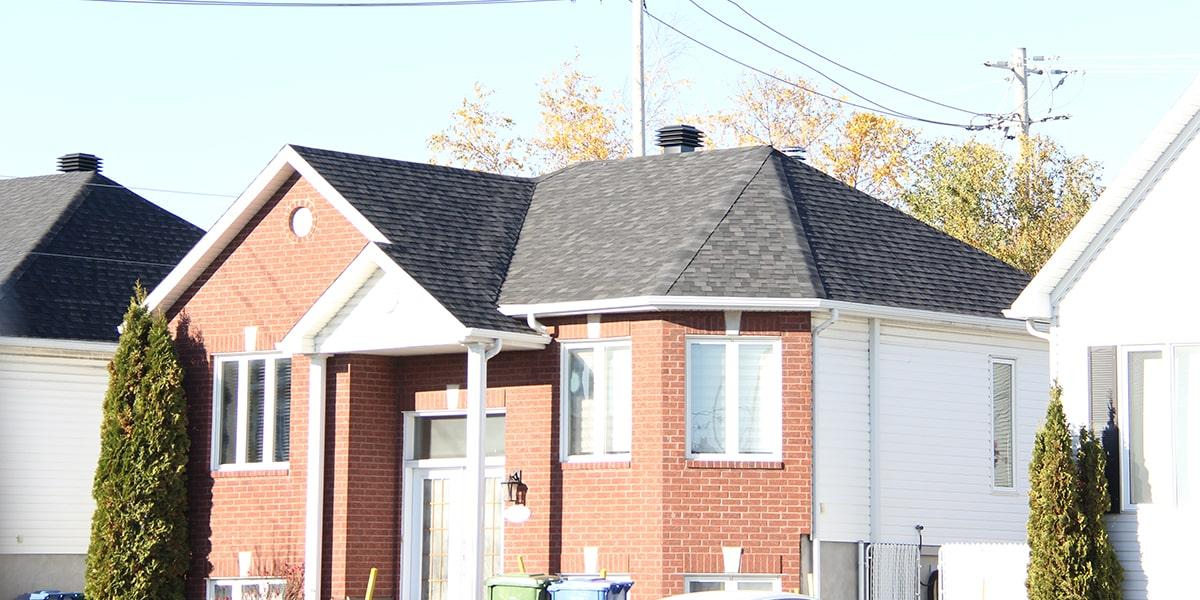 Rénovation, toit en pente, Ancienne-lorette