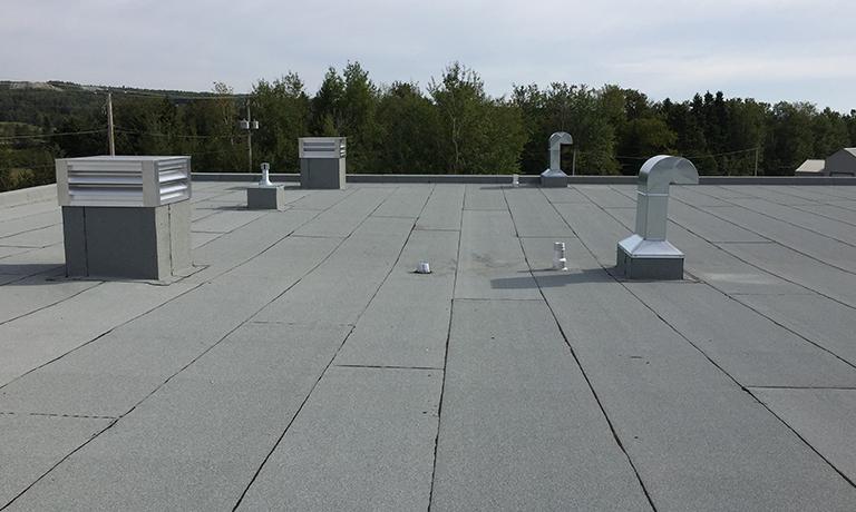 Isolation et ventilation, toit plat Saint-Joseph-de-Beauce